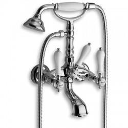 Mélangeur chromé bain-douche complet CANOVA ELITE - CRISTINA ONDYNA CE10251
