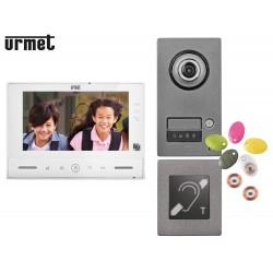 Interphone vidéo URMET KIT NOTE 2  mains-libres - Urmet  1723/71ERP