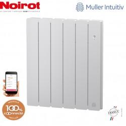 Radiateur Fonte NOIROT BELADOO 1000W horizontal blanc connecté NEN1683SEEC