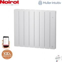 Radiateur Fonte NOIROT BELADOO 1250W horizontal blanc connecté NEN1684SEEC