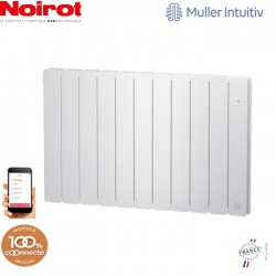 Radiateur Fonte NOIROT BELADOO 2000W horizontal blanc connecté NEN1687SEEC