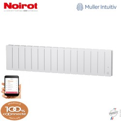 Radiateur Fonte NOIROT BELADOO 1500W Plinthe blanc connecté NEN1715SEEC