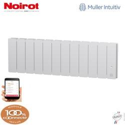 Radiateur Fonte NOIROT BELADOO 1000W Plinthe blanc connecté NEN1713SEEC