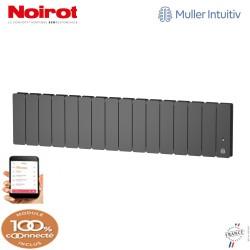 Radiateur Fonte NOIROT BELADOO 1500W Plinthe gris anthracite connecté NEN1715SEHS