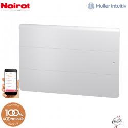 Radiateur Fonte NOIROT AXOO 1500W horizontal blanc connecté NEN3075SEEC