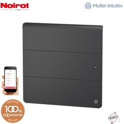 Radiateur Fonte NOIROT AXOO 1000W horizontal gris anthracite connecté NEN3073SEHS