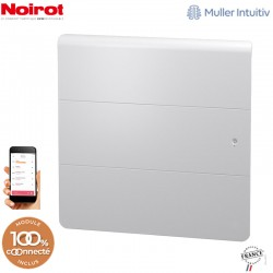 Radiateur Fonte NOIROT AXOO horizontal blanc connecté