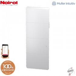 Radiateur Fonte NOIROT AXOO 1000W vertical blanc connecté NEN3083SEEC