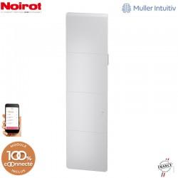 Radiateur Fonte NOIROT AXOO 1500W vertical blanc connecté NEN3085SEEC