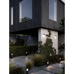 PIANA 30 potelet Aluminium Noir LED integrée 2700K - Nordlux 2019098003