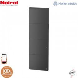 Radiateur Fonte NOIROT AXOO 2000W vertical Gris anthracite connecté NEN3087SEHS