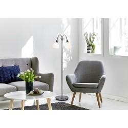 RAY lampadaire Métal-Verre Blanc E14  - Nordlux 63224033
