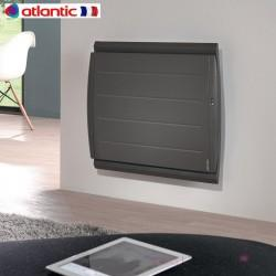 Radiateur Atlantic MARADJA 1500W GRIS ANTHRACITE Pilotage Intelligent Connecté Horizontal 507444