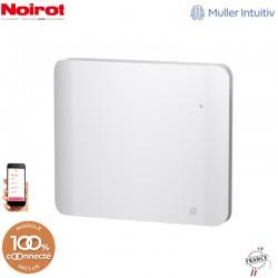 Radiateur Fonte NOIROT DOOK 1000W horizontal blanc connecté NEN3363TCEC