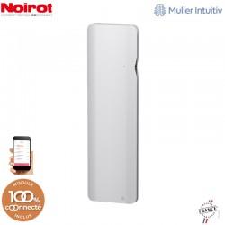 Radiateur Fonte NOIROT DOOK 1000W Verticial blanc connecté NEN3373TCEC