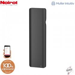 Radiateur Fonte NOIROT DOOK 1000W Vertical gris anthracite connecté NEN3373TCHS