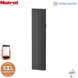 Radiateur Fonte NOIROT BELADOO 1500W Vertical gris anthracite connecté NEN1695SEHS