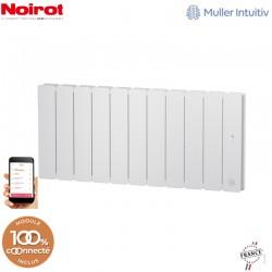 Radiateur Fonte NOIROT BELADOO 1500W Bas blanc connecté NEN1705SEEC