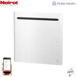 Radiateur Aluminium NOIROT SENSUAL 1000W horizontal blanc connecté NEN2483SEEC