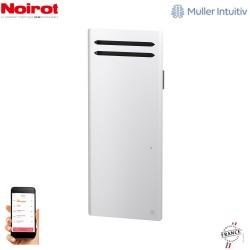 Radiateur Aluminium NOIROT SENSUAL 2000W vertical blanc connecté NEM2497SEEC