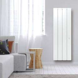 Radiateur Fonte NOIROT BELADOO 1500W Vertical blanc connecté NEN1695SEEC