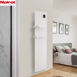 Sèche-serviettes électrique chaleur douce SENSUAL Bains 750W - NOIROT NEK2502TCEC
