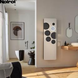 Sèche-serviettes électrique chaleur douce avec soufflerie OOK 1500W - NOIROT NEK2525TCEC