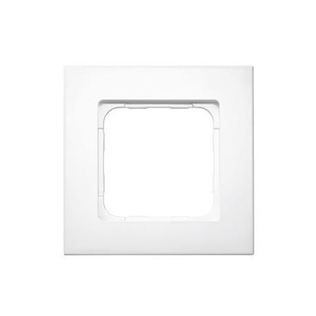 Cadre Smoove Blanc laqué pour le Lanceur de scénarios SOMFY 9015022