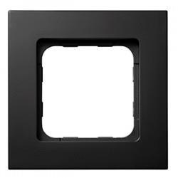 Cadre Smoove Noir mat pour le Lanceur de scénarios SOMFY 9015023