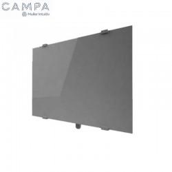 Radiateur électrique CAMPA CAMPAVER Select Horizontal Métal Look 1000W - CMSC10HMETL
