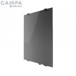Radiateur électrique CAMPAVER Select Vertical Métal Look 1500W - CAMPA CMSC15VMETL