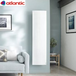 Radiateur chaleur douce  Sokio Digital vertical 1500W Blanc - Atlantic 503117