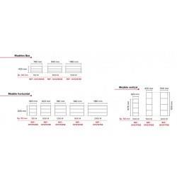Radiateur Fonte LENA Smart EcoControl 750W Bas - APPLIMO 0012182SE