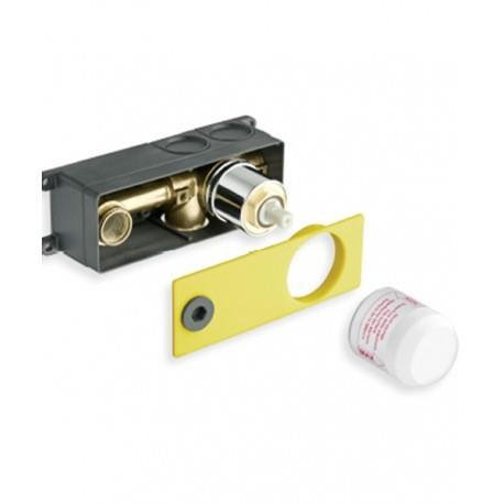 Mécanisme box pour lavabo mural poignée à droite - NOIR - CRISTINA ONDYNA PD23713