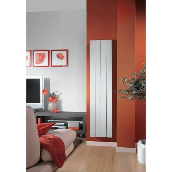 radiateur electrique vertical a inertie. Black Bedroom Furniture Sets. Home Design Ideas