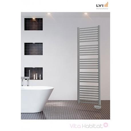 Sèche-serviettes LVI - JARL - 1000W FLUIDE - 3851610