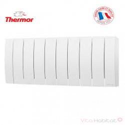 Radiateur électrique Aluminium THERMOR BILBAO 3 Blanc 700W Bas 495821