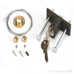 Déverrouillage extérieur à clé FAAC - 424591001