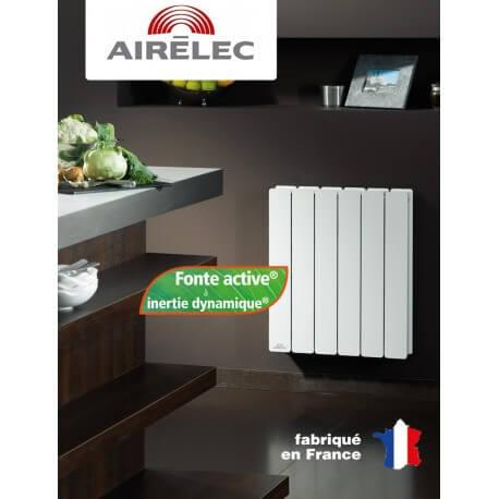 Radiateur Fonte AIRELEC - FONTEA DIGITAL 1000W Horizontal -A691393