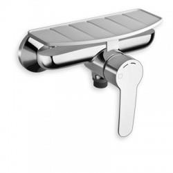 .DOUCHE NEW DAY NF C 2 AVEC PORTE SAVON CHROME  - CRISTINA ONDYNA ND40251