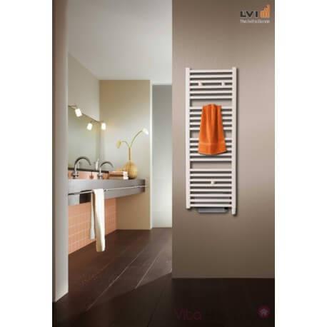 Sèche-serviettes électrique soufflant LVI JARL IR T