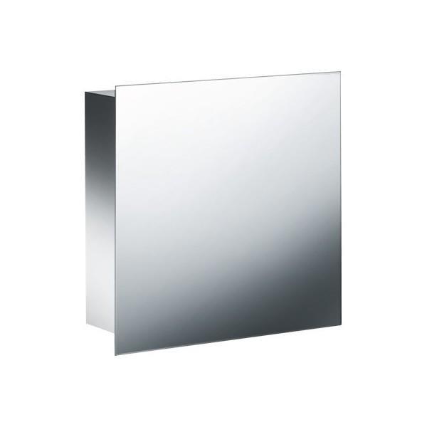 Armoire Suspendue Inox H 45 L 45 P 15 Cm Avec Miroir Cristina