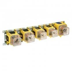 Mécanisme box BATI 3 sorties à encastrer pour douche thermostatique CRISTINA ONDYNA CS71900