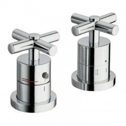 Mitigeur bain douche sur gorge thermostatique 25 mm - CRISTINA ONDYNA EV14651