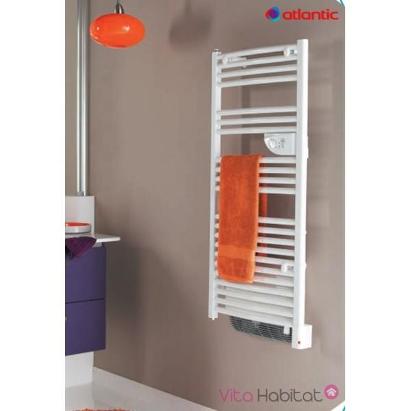 Seche serviettes chauffage eau chaude et electrique 1500w - Seche serviette mixte avec soufflerie ...