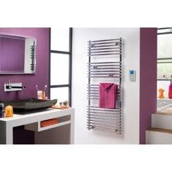 Sèche-serviettes Atlantic - TIMELIS 500W - Fluide - CHROME - 952105 - Electrique