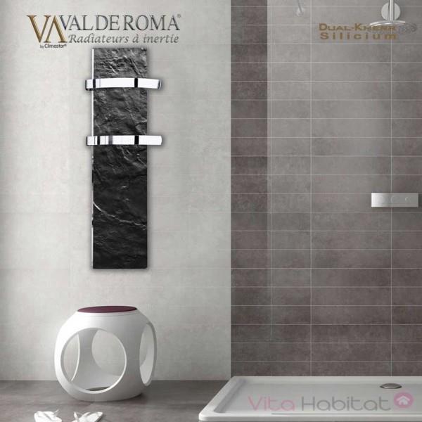 s che serviette rayonnant slim 2 0 ardoise noire 500w. Black Bedroom Furniture Sets. Home Design Ideas