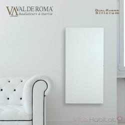 Radiateur rayonnant SLIM Blanc cachemire 800W  - Valderoma 050800L
