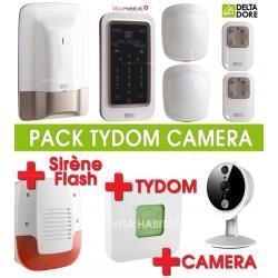 Pack Alarme TYXAL+ avec Caméra connectée et sirène
