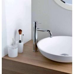 Mitigeur chromé haut avec vidage pour lavabo TRIVERDE - CRISTINA ONDYNA TV22251